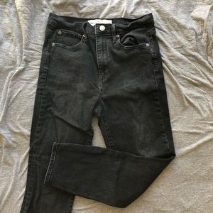 Gap super skinny high rise jeans. Worn once.